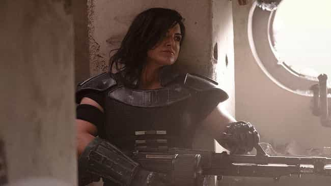 Cara Dune is listed (or ranked) 4 on the list The Best Characters On 'The Mandalorian'