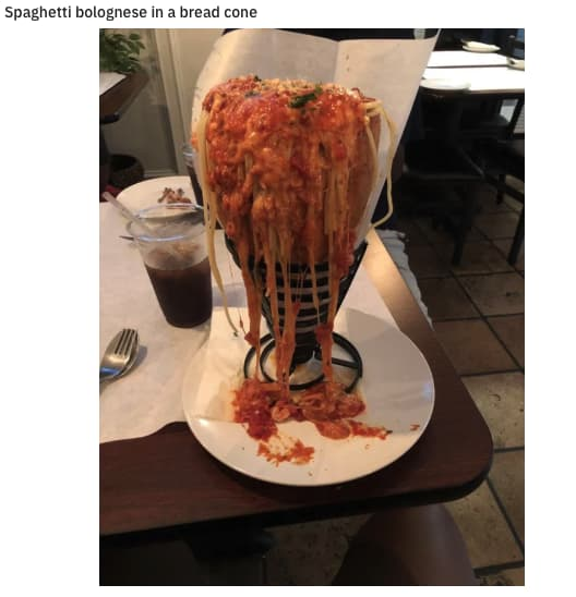 Lovecraftian Pasta on Random Pictures Of Stupidest Food We've Ever Seen