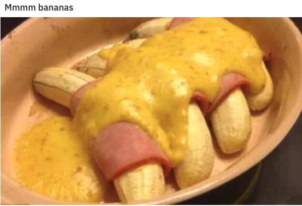 Banana No-No on Random Pictures Of Stupidest Food We've Ever Seen