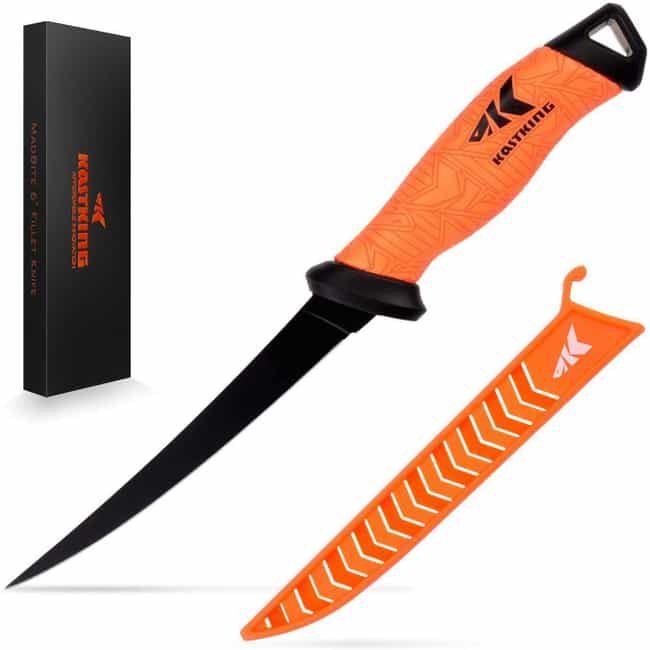 KastKing Fillet Knife Professi... is listed (or ranked) 1 on the list The Best Fishing Knives To Fillet Your Catch