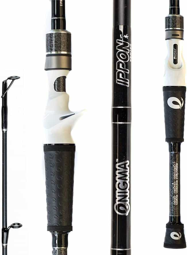 Enigma Fishing IPPON Pro Tourn... is listed (or ranked) 2 on the list The Best Fishing Poles For Beginners