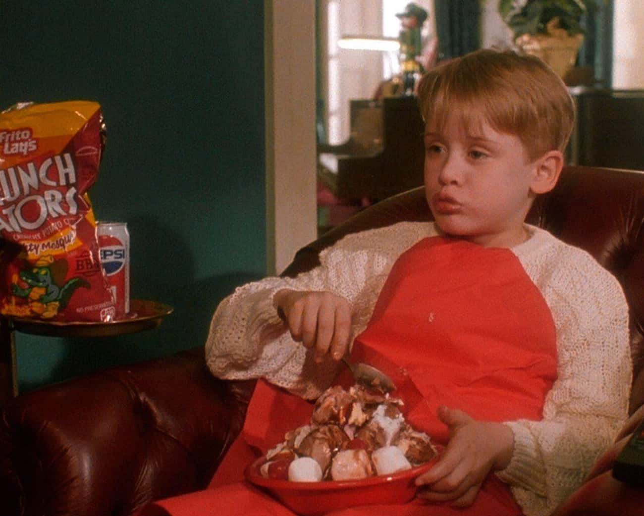 Even Macaulay Culkin Was Shock is listed (or ranked) 2 on the list The Story Behind 'Angels With Filthy Souls,' The Fake Black-And-White Movie Inside 'Home Alone'