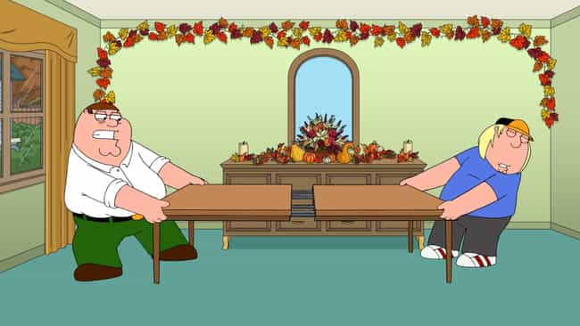 Shanksgiving is listed (or ranked) 3 on the list The Best Thanksgiving Episodes On 'Family Guy'