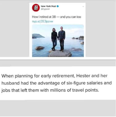 Retire At 38 By Being Already Rich