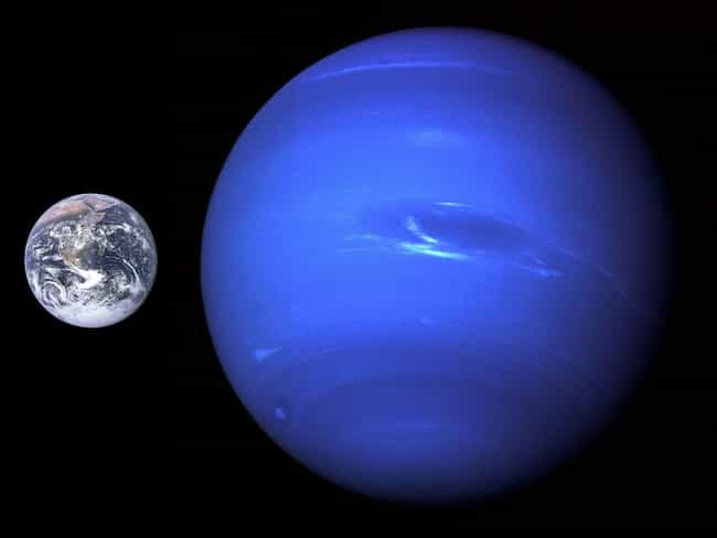Earth Vs. Neptune is listed (or ranked) 4 on the list How Does The Earth Measure Up To The Rest Of The Galaxy?