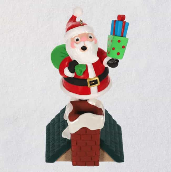 Walk The Line Santa Musical Or... is listed (or ranked) 2 on the list Very Specific Hallmark Christmas Ornaments We Can't Believe Actually Exist