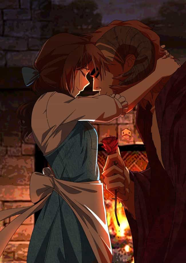 Beauty and the Beast #2 ... is listed (or ranked) 2 on the list This Artist Creates Anime Versions of Disney Characters