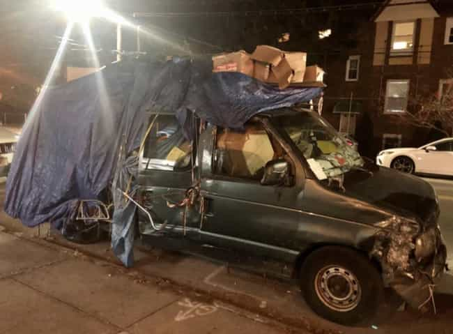 There Is Just So Much Going On... is listed (or ranked) 3 on the list 19 Pictures Of Cars Filled With Garbage That Give Us Anxiety