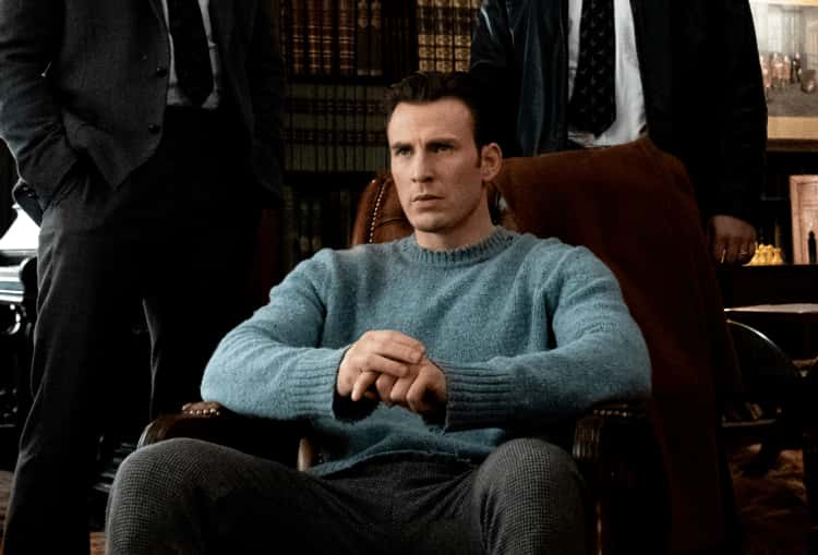 Ransom's Blue Sweater