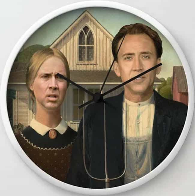 Clock is listed (or ranked) 4 on the list 16 Nicolas Cage Products That Bring Us One Step Closer To World Peace