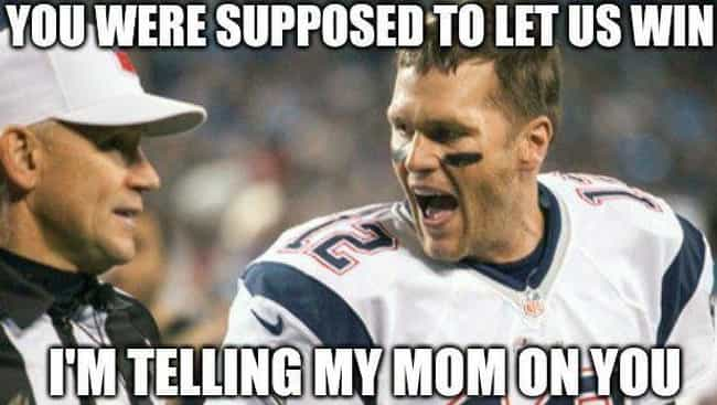 He Didn't Get The Memo ... is listed (or ranked) 3 on the list The Funniest Tom Brady Memes For Football Fans