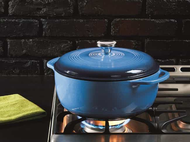 Lodge Enameled Cast Iron... is listed (or ranked) 2 on the list The Best Kitchen Gifts, Ranked