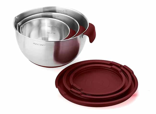 Non Slip Steel Mixing Bo... is listed (or ranked) 3 on the list The Best Kitchen Gifts, Ranked