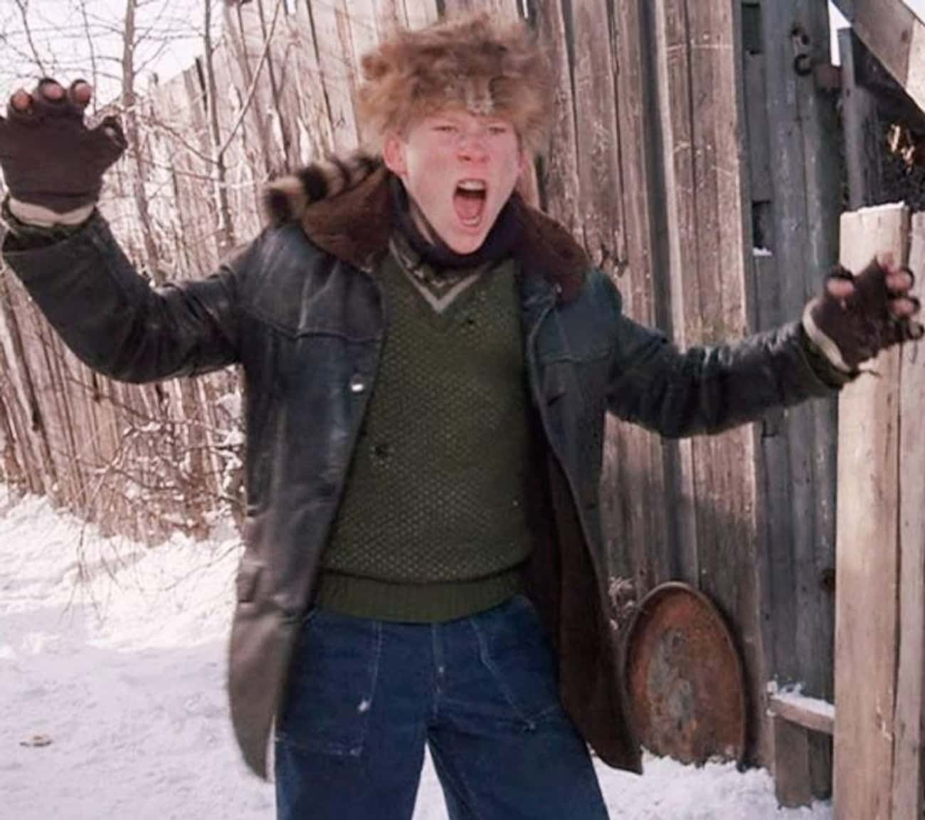 Scut Farkus's Davy Crockett Ha is listed (or ranked) 1 on the list Every Inaccuracy In 'A Christmas Story's Version Of The '40s
