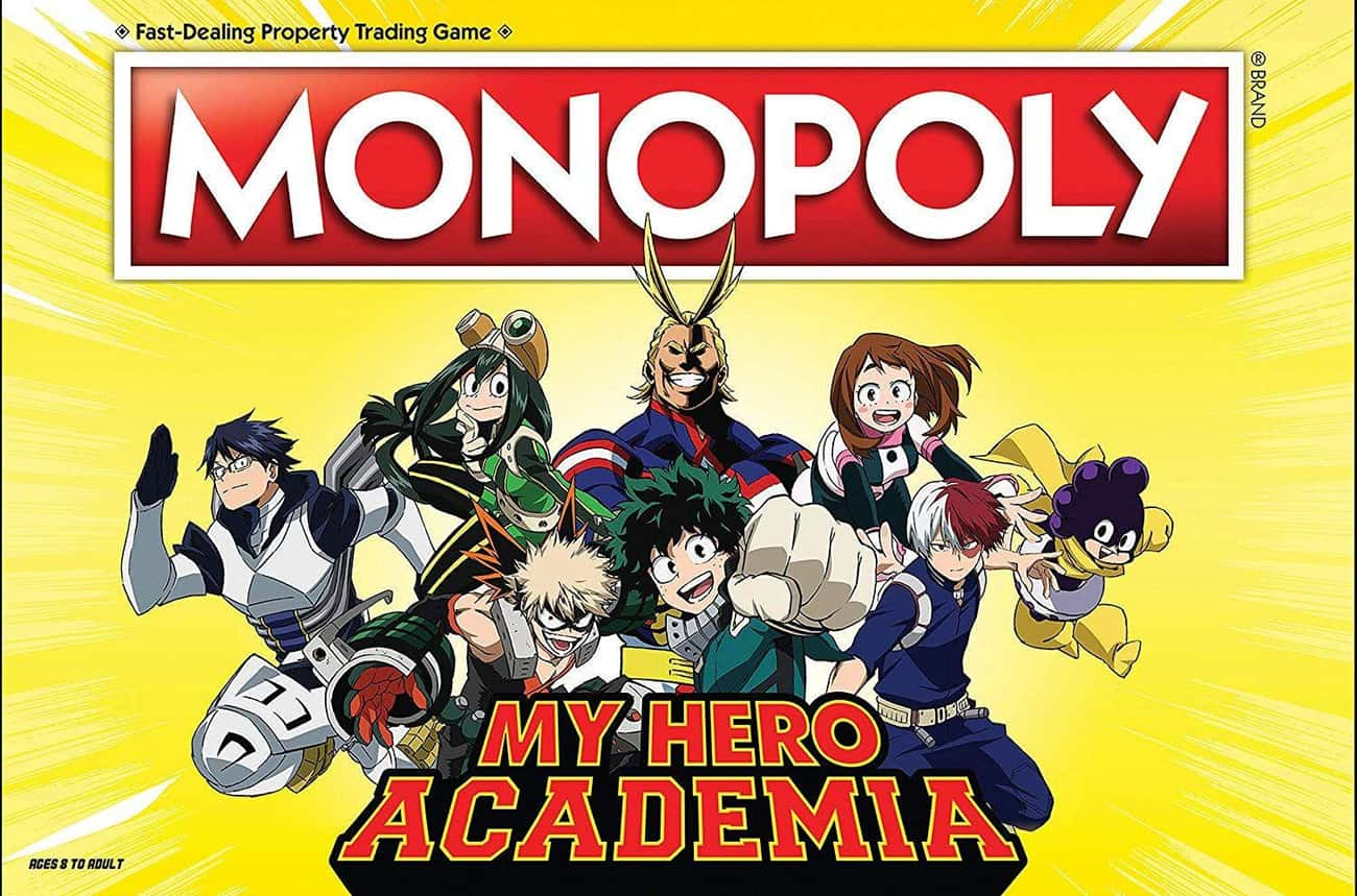 Monopoly My Hero Academia Boar is listed (or ranked) 1 on the list 13 My Hero Academia Gifts You Can Buy On Amazon Right Now