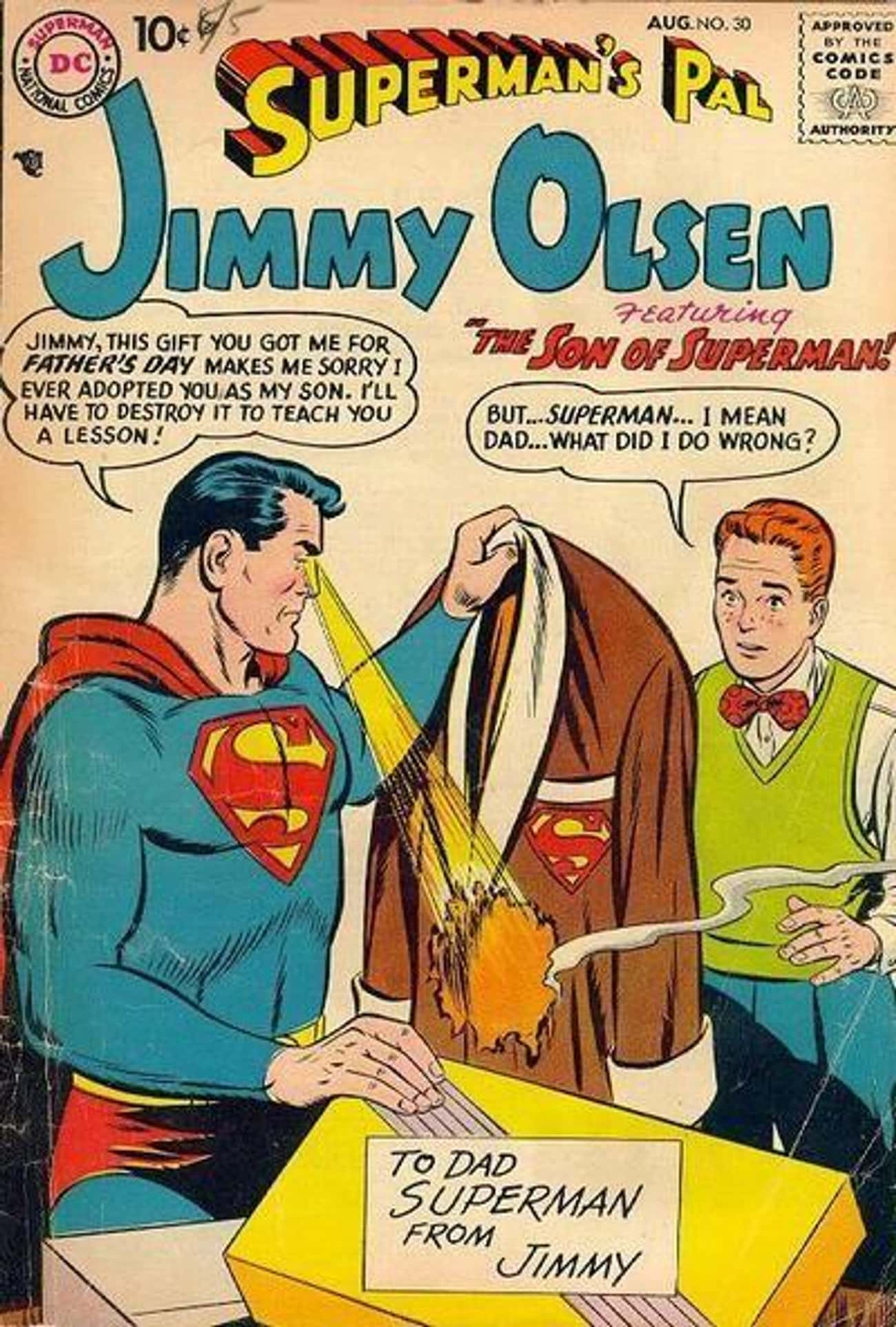 Superman Adopts And Then Mistreats Jimmy Olsen In 'Superman's Pal, Jimmy Olsen' #30
