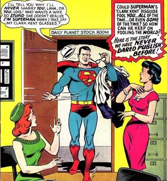 Clark Kent Gaslights His... is listed (or ranked) 3 on the list 16 Times Superman Acted Like An All-American Jerk