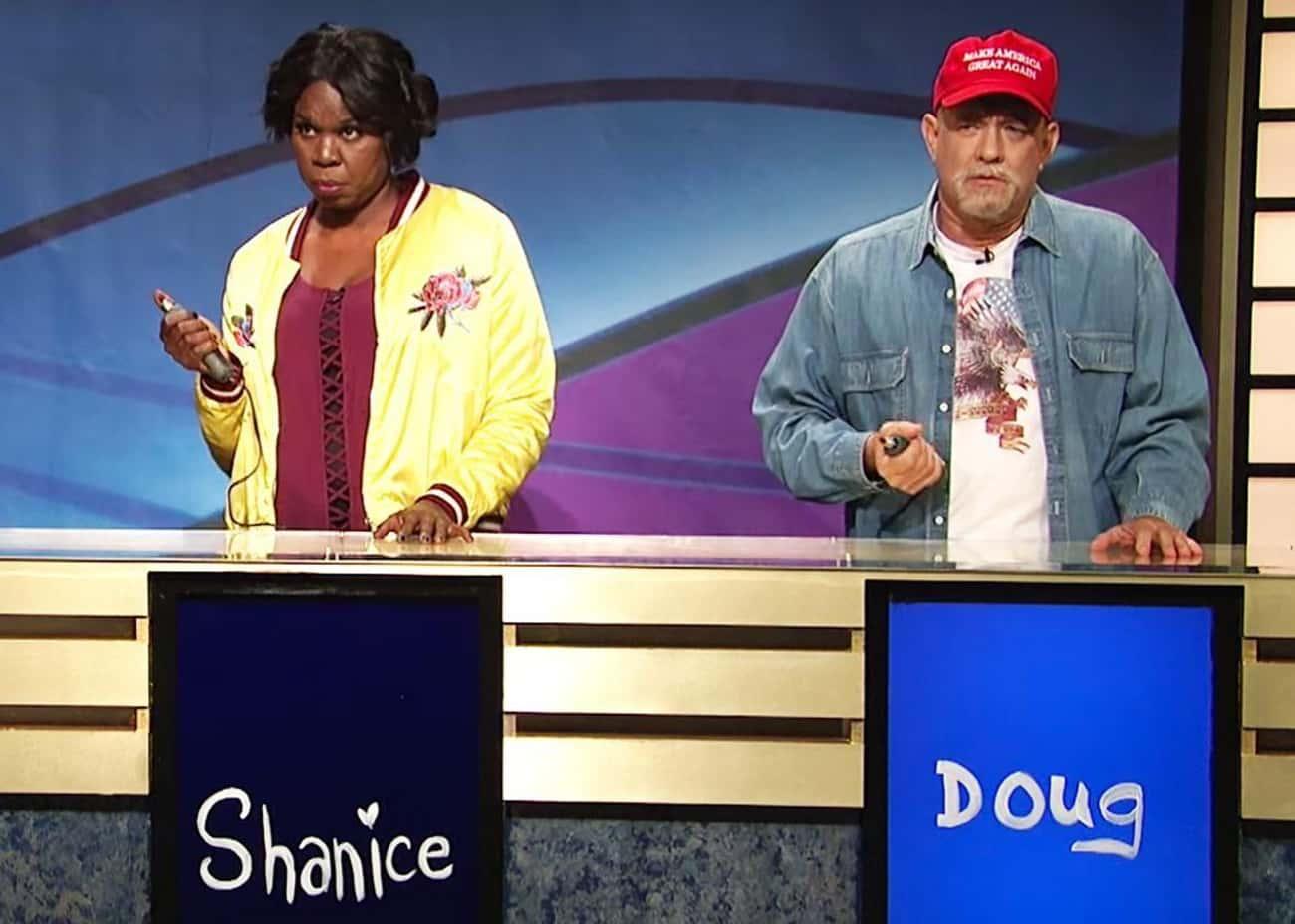 Black Jeopardy With Tom Hanks