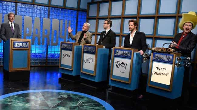 SNL40 Jeopardy is listed (or ranked) 2 on the list The Most Memorable SNL Sketches Of The 2010s