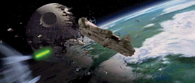 The Rebel Fleet Emerges To Ba... is listed (or ranked) 4 on the list The Dumbest Decisions In The 'Star Wars' Franchise