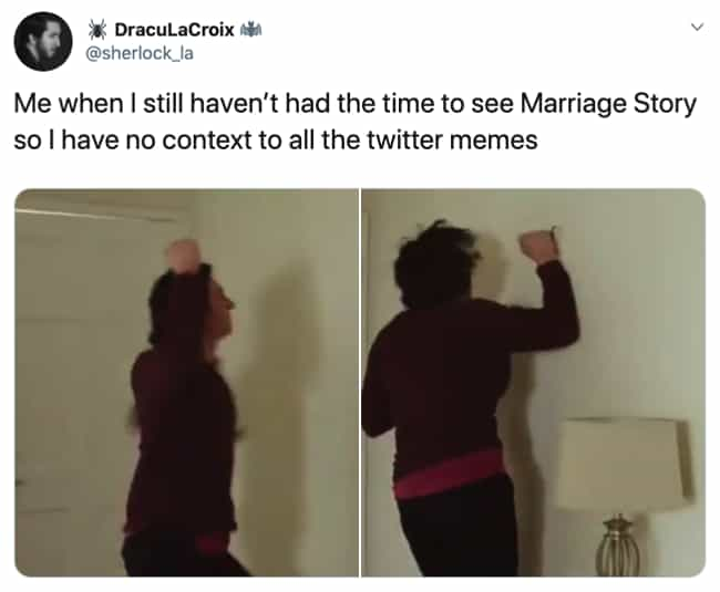 Curse These Memes! is listed (or ranked) 4 on the list The 17 Best New Marriage Story Memes We Could Find