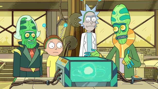 Created AndEnslave... is listed (or ranked) 2 on the list The Most Low-Key Cold-Blooded Things Rick Sanchez Has Done On 'Rick And Morty'