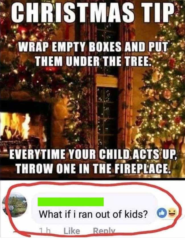 *Calls Child Protective ... is listed (or ranked) 1 on the list 21 Christmas Memes Only People On The Naughty List Will Appreciate