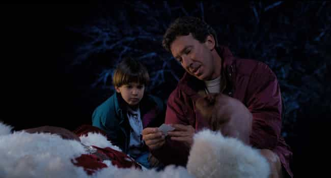 The First Film Opens Wit... is listed (or ranked) 1 on the list The 'Santa Clause' Series Is A Holiday Phantasmagoria