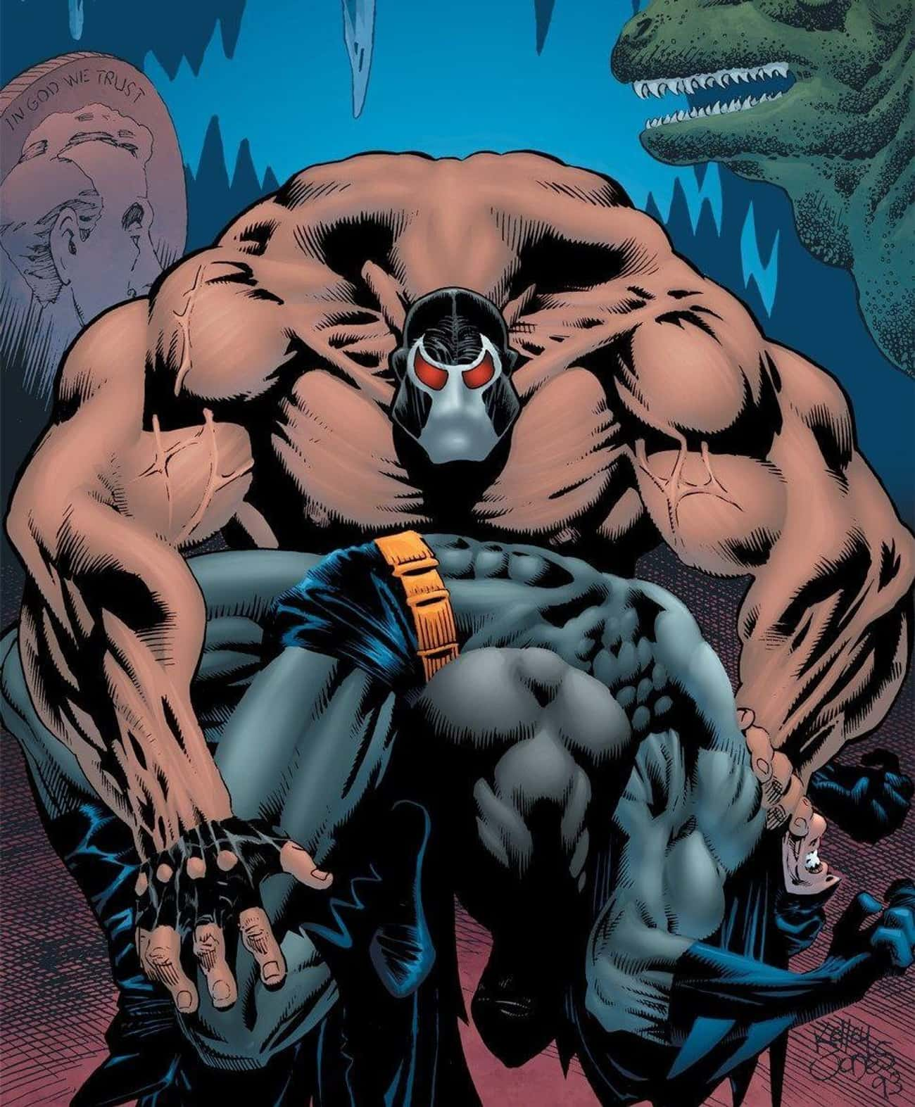 Little Is Known About The Joke is listed (or ranked) 3 on the list Forget The Joker - Why Bane Is Batman's True Arch Nemesis
