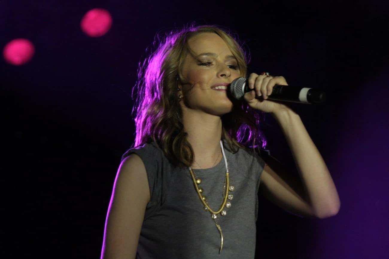 Read More About Bridgit Mendle is listed (or ranked) 3 on the list The Two Men Who Stole Bridgit Mendler's Heart
