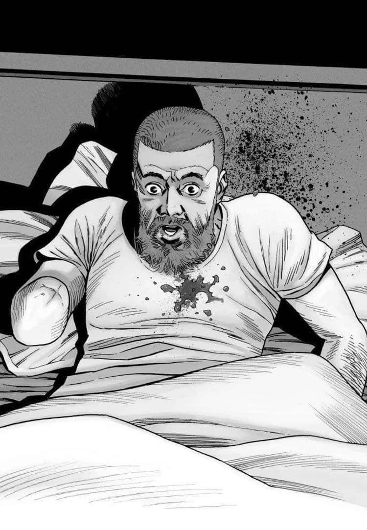 Rick Grimes Meets His End In His Own Bed
