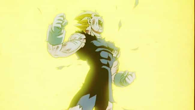 Vegeta Sacrifices Himsel... is listed (or ranked) 4 on the list The 15 Most Heroic Moments In Anime History