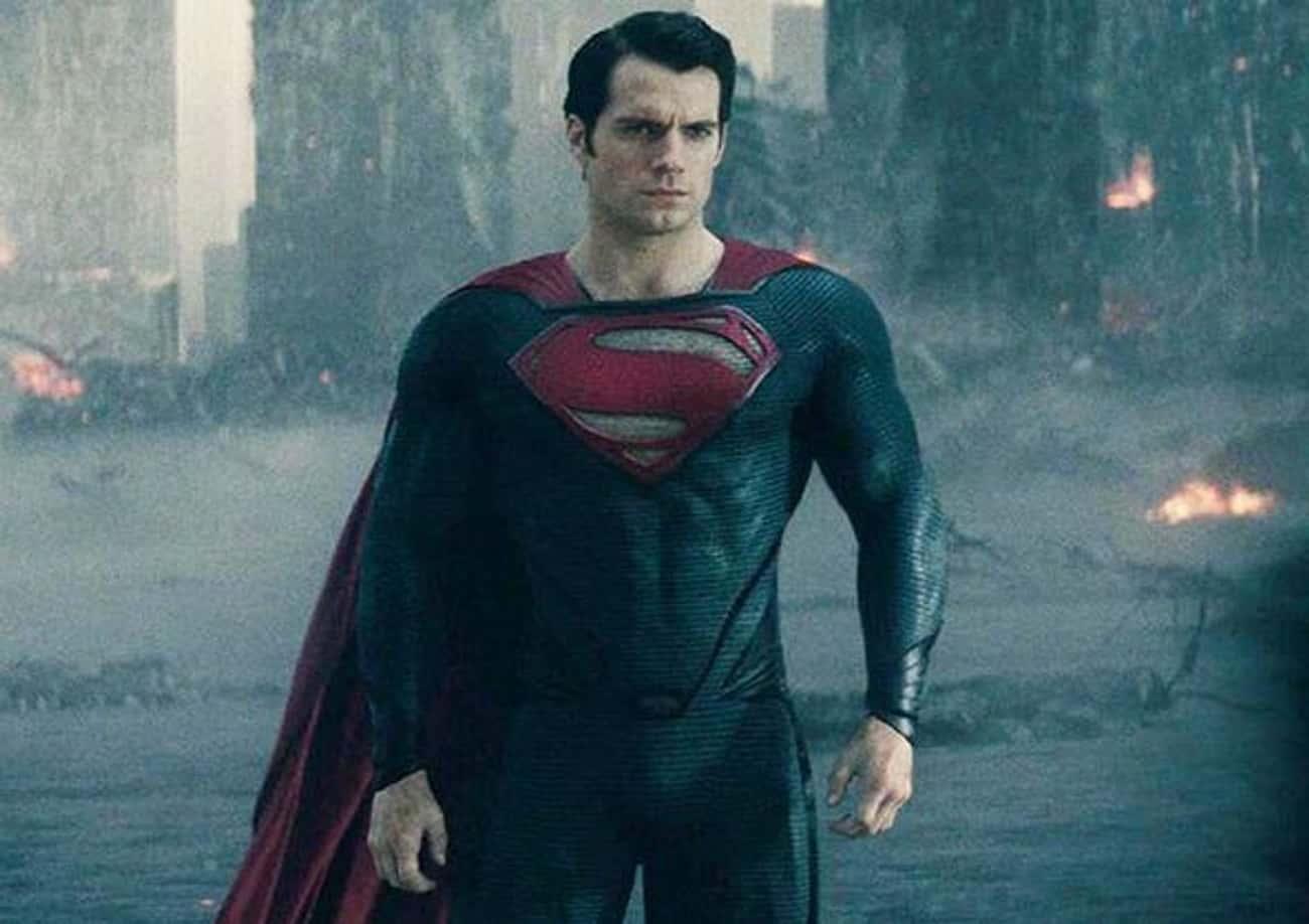 Superman In 'Man Of Steel'
