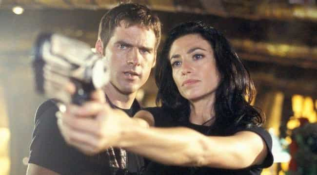 Aeryn Sun & John Cri... is listed (or ranked) 3 on the list The 16 Most Memorable Fictional Romances Between Humans And Aliens