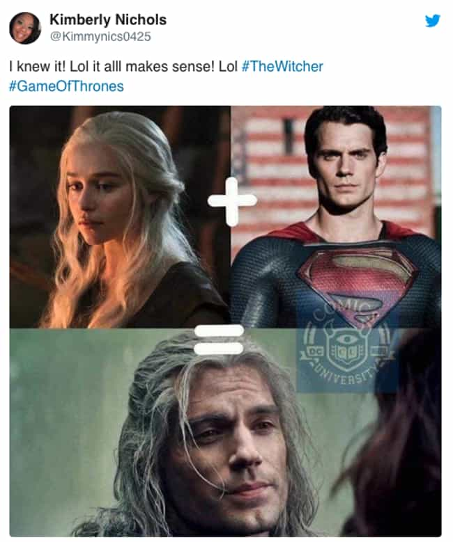 It Adds Up is listed (or ranked) 2 on the list 18 Hilarious Reactions To Netflix's 'The Witcher'
