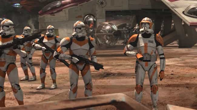 Clone Troopers is listed (or ranked) 3 on the list Every Stormtrooper In The Star Wars Cinematic Universe, Ranked