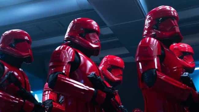 Sith Troopers is listed (or ranked) 2 on the list Every Stormtrooper In The Star Wars Cinematic Universe, Ranked