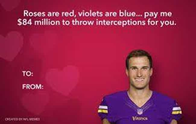 Stale Chocolates May Not... is listed (or ranked) 3 on the list The Best Memes For Minnesota Vikings Haters