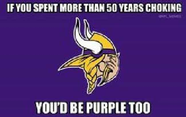 Low Expectations, Still ... is listed (or ranked) 1 on the list The Best Memes For Minnesota Vikings Haters