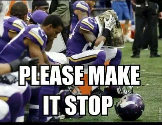 White Flag Of NFL Teams ... is listed (or ranked) 4 on the list The Best Memes For Minnesota Vikings Haters