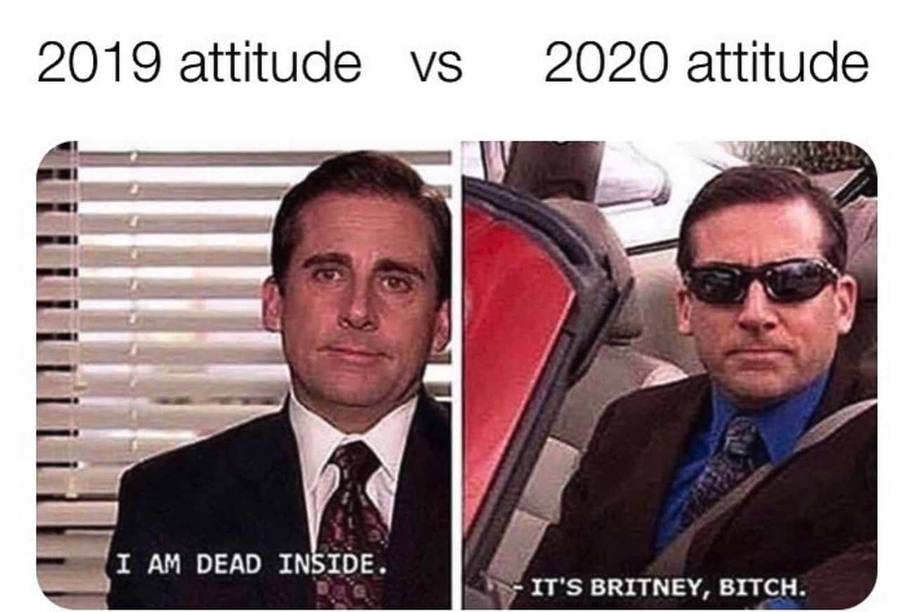 Feeling Confident In The New D is listed (or ranked) 2 on the list 22 Memes About 2020 To Start The New Year Off Right