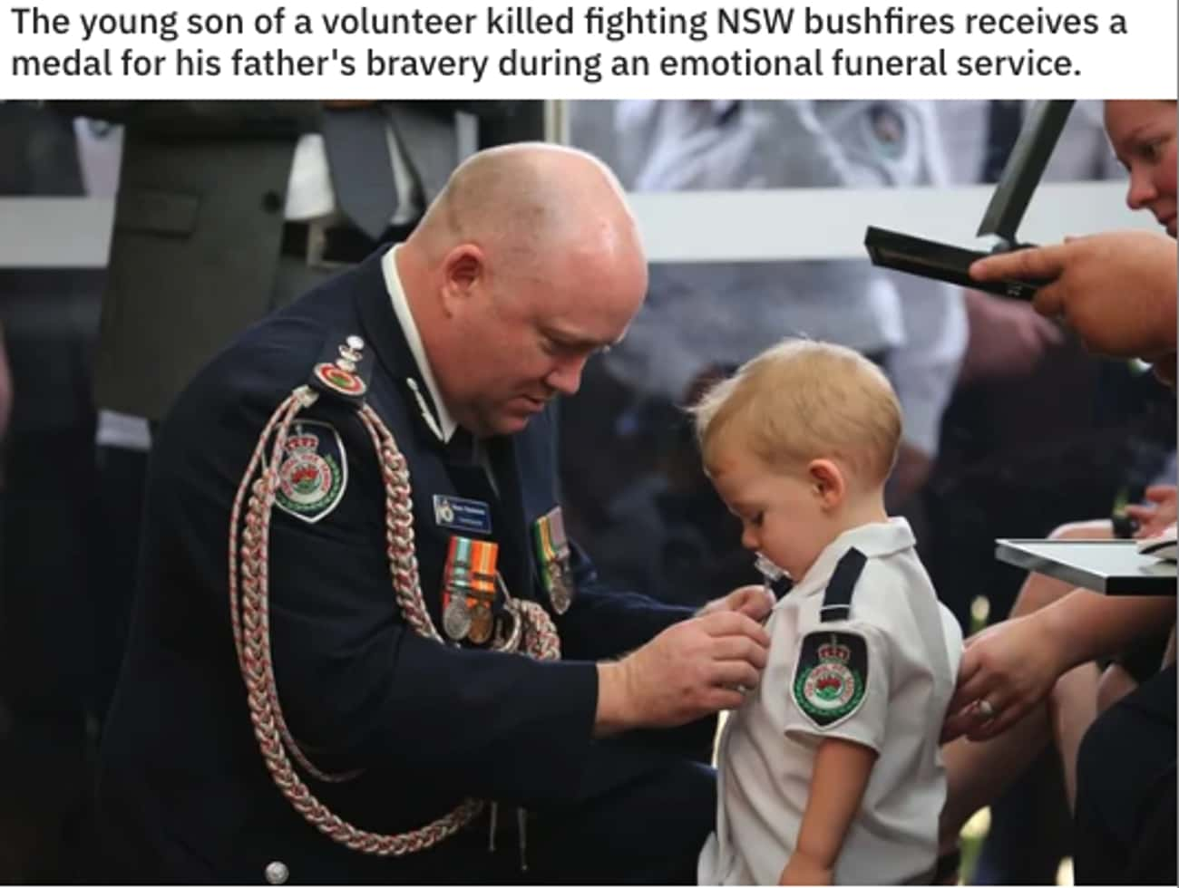 His Father's Medal is listed (or ranked) 4 on the list 27 Pictures That Prove People Can Still Be Good