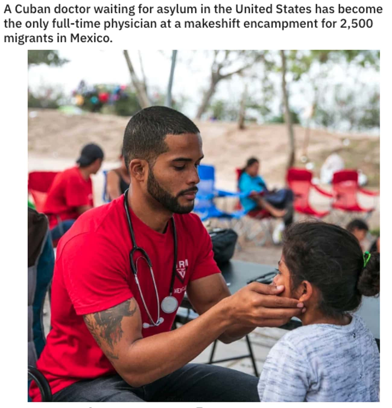 Doctors Within Borders is listed (or ranked) 2 on the list 27 Pictures That Prove People Can Still Be Good