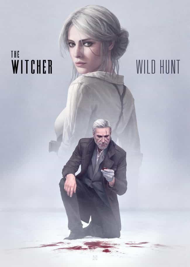 Detective Noir Witcher ... is listed (or ranked) 1 on the list 16 Extremely Cool 'Witcher' Fan Art Mash-Ups