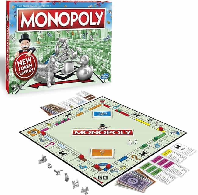 Monopoly is listed (or ranked) 1 on the list 21 Extremely Long Board Games To Help Pass The Time While You're Stuck Inside