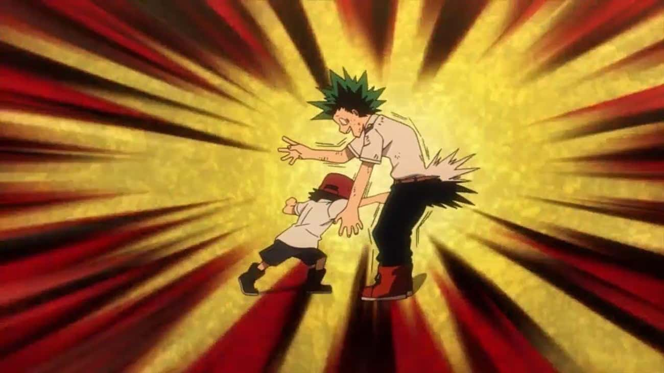 Deku Did Nothing To Deserve Ge is listed (or ranked) 2 on the list The 13 Most Devastating Low Blows In Anime History