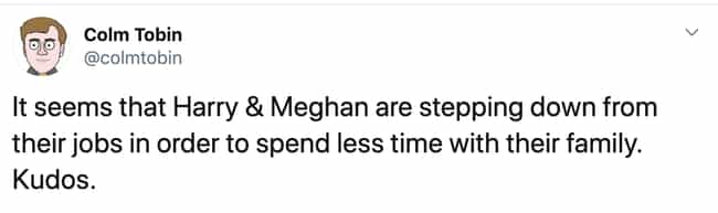 Livin' The Dream is listed (or ranked) 1 on the list 15 Hilarious Reactions To Meghan And Harry Leaving The Royal Family
