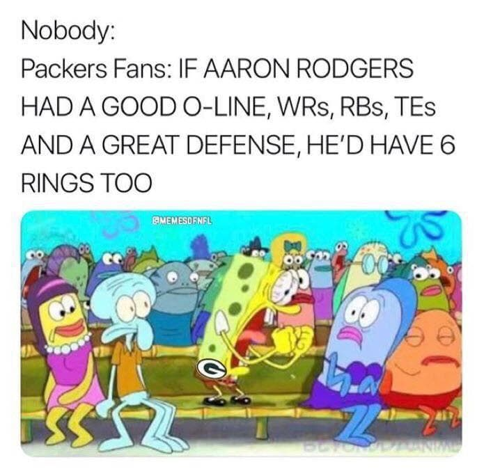 Random Funniest Green Bay Packers Memes For NFL Fans