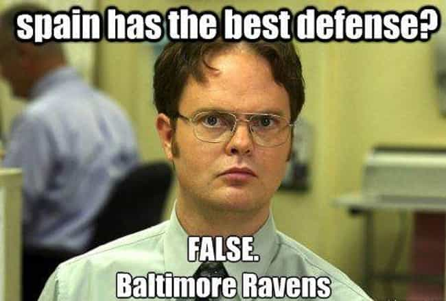 Can't Argue Facts is listed (or ranked) 3 on the list The Funniest Baltimore Ravens Memes For NFL Fans