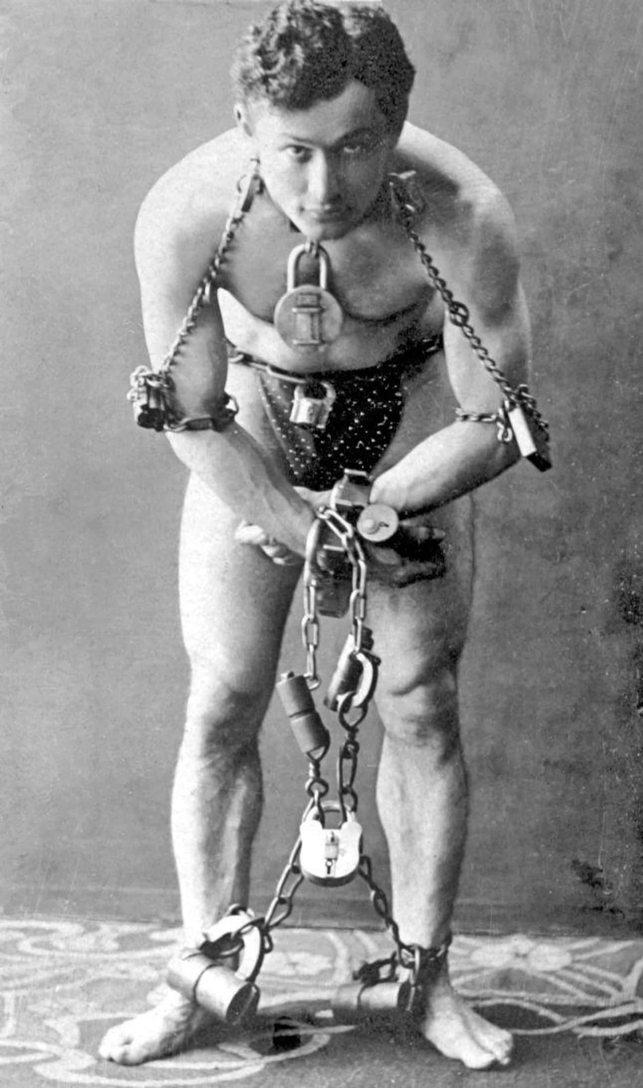 Houdini's Training As A Magici is listed (or ranked) 4 on the list A History Of Harry Houdini's Lifelong Battle To Debunk Mediums